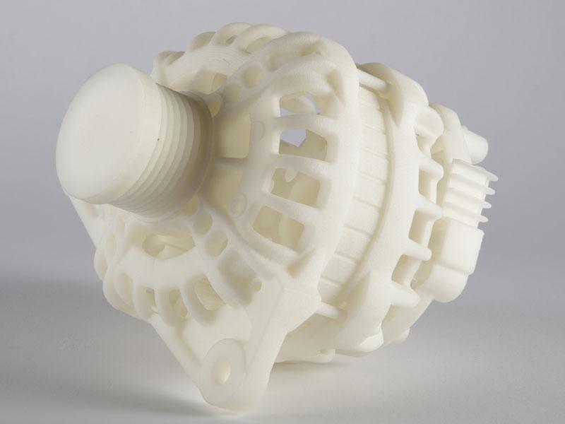 Pièce automobile fabriquée par impression 3D haute température