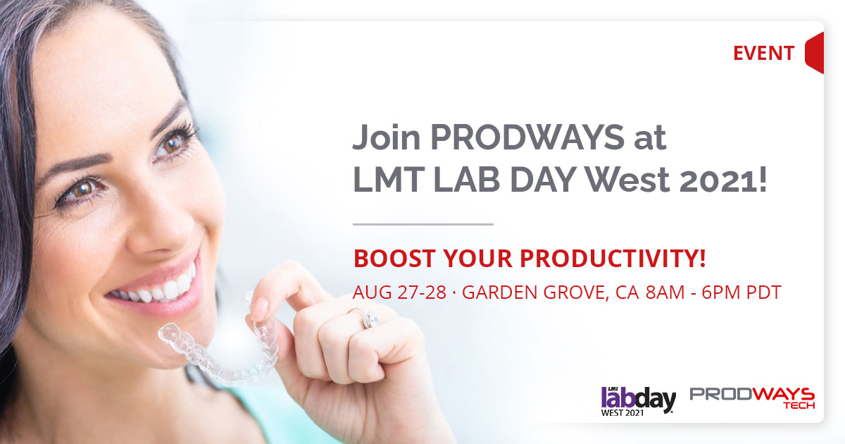 Prodways Tech will be At Lab Day West 2021 with 3DBioCAD